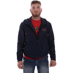 Kleidung Herren Jacken Ea7 Emporio Armani 3HPB13 PN28Z Blau