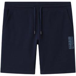 Kleidung Herren Shorts / Bermudas Napapijri NP0A4E1M Blau