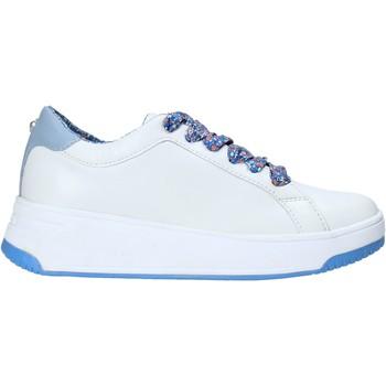 Schuhe Damen Sneaker Low Apepazza S0BASKET04/FLW Weiß