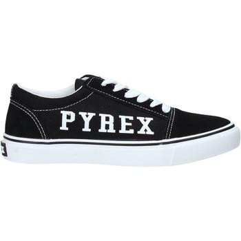 Schuhe Damen Sneaker Low Pyrex PY020224 Schwarz