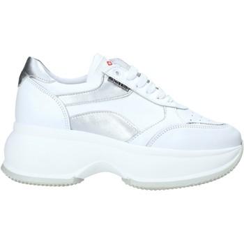 Schuhe Damen Sneaker Low Exton 1575 Weiß