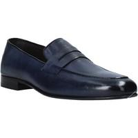 Schuhe Herren Slipper Exton 1020 Blau