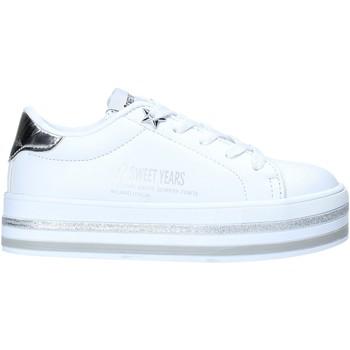 Schuhe Kinder Sneaker Low Sweet Years S20-SSK414 Weiß