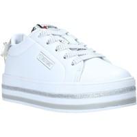 Schuhe Kinder Sneaker Low Sweet Years S20-SSK415 Weiß