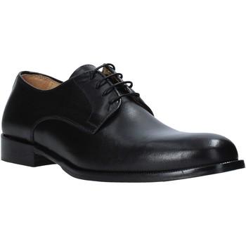 Schuhe Herren Richelieu Exton 1374 Schwarz