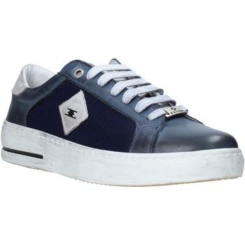 Schuhe Herren Sneaker Low Exton 177 Blau