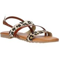 Schuhe Damen Sandalen / Sandaletten Jeiday JUNGLA-SALLY Braun
