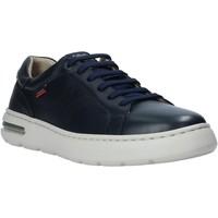 Schuhe Herren Sneaker Low CallagHan 14100 Blau