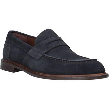 Schuhe Herren Slipper Marco Ferretti 860003MF Blau