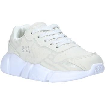 Schuhe Kinder Sneaker Low Miss Sixty S20-SMS737 Weiß
