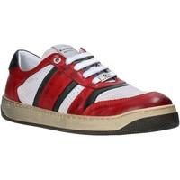 Schuhe Herren Sneaker Low Exton 310 Rot