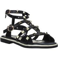 Schuhe Mädchen Sandalen / Sandaletten Joli JT0079S Schwarz