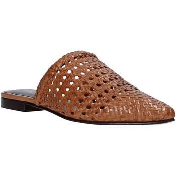 Schuhe Damen Pantoletten / Clogs Marco Ferretti 161357MF Braun
