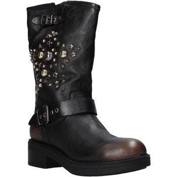 Schuhe Damen Low Boots Cult CLE104131 Schwarz