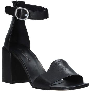 Schuhe Damen Sandalen / Sandaletten Mally 6866 Schwarz