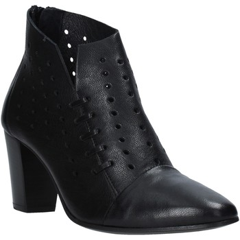 Schuhe Damen Low Boots Mally 6878 Schwarz