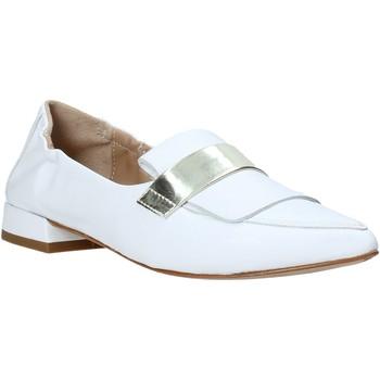 Schuhe Damen Slipper Mally 6926 Weiß