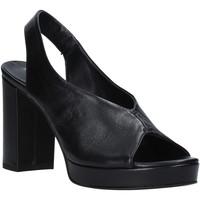 Schuhe Damen Sandalen / Sandaletten Mally 6843 Schwarz