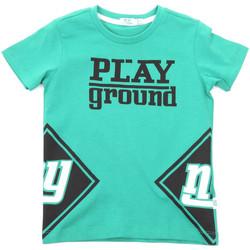Kleidung Kinder T-Shirts Melby 70E5544 Grün