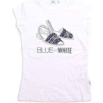 Kleidung Kinder Tops Melby 70E5645 Weiß