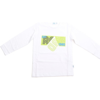 Kleidung Kinder Langarmshirts Melby 70C5524 Weiß