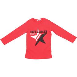 Kleidung Kinder Langarmshirts Melby 70C5615 Rot