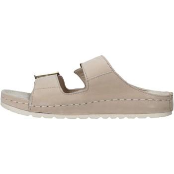 Lumberjack SW83506 001 D01 Beige - Schuhe Pantoffel Damen 3799