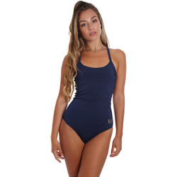 Kleidung Damen Badeanzug Ea7 Emporio Armani 911029 CC417 Blau