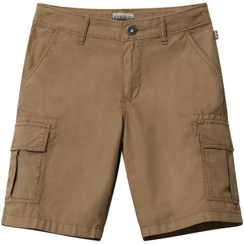 Kleidung Kinder Shorts / Bermudas Napapijri NP0A4E4G Braun