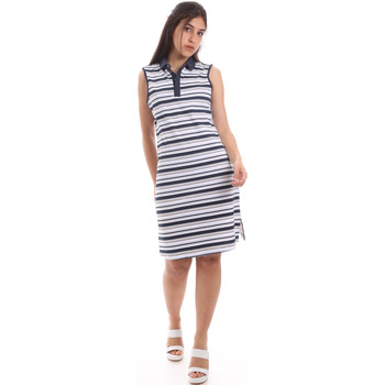 Kleidung Damen Kurze Kleider Ea7 Emporio Armani 3HTA58 TJI3Z Blau
