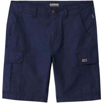 Kleidung Herren Shorts / Bermudas Napapijri NP0A4E1K Blau