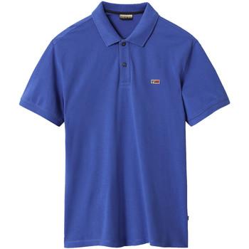 Kleidung Herren Polohemden Napapijri NP0A4EGD Blau