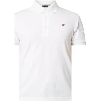 Kleidung Herren Polohemden Napapijri NP0A4E2M Weiß