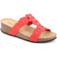 Schuhe Damen Pantoffel Grunland CB2491 Rot