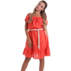 Kleidung Damen Kurze Kleider Liu Jo FA0173 T4191 Orange