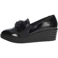 Schuhe Damen Slipper Imac 606330 Schwarz