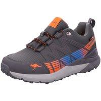 Schuhe Jungen Sneaker Low Kangaroos Schnuerschuhe K-TRUN LOW RTX 81106-2125 grau