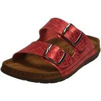 Schuhe Damen Pantoletten / Clogs Rohde Pantoletten 5862/41 rot