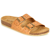 Schuhe Damen Pantoffel Kickers ECOLOG Camel