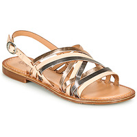 Schuhe Damen Sandalen / Sandaletten Kickers ETRUSK Rose / Mettalfarben / Silbern