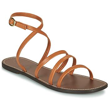 Schuhe Damen Sandalen / Sandaletten Kickers KICKNICE Camel