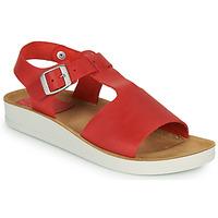 Schuhe Damen Sandalen / Sandaletten Kickers ODILOO Rot