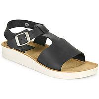 Schuhe Damen Sandalen / Sandaletten Kickers ODILOO Schwarz