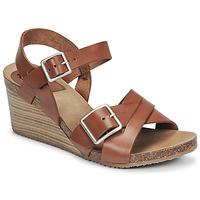 Schuhe Damen Sandalen / Sandaletten Kickers SPAINSTRAP Braun
