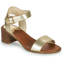 Schuhe Damen Sandalen / Sandaletten Kickers VOLOU Goldfarben