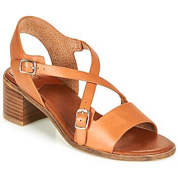 Schuhe Damen Sandalen / Sandaletten Kickers VOLUBILIS Camel