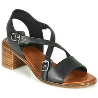 Schuhe Damen Sandalen / Sandaletten Kickers VOLUBILIS Schwarz