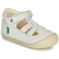 Schuhe Mädchen Ballerinas Kickers SUSHY Weiss