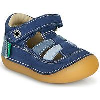 Schuhe Jungen Sandalen / Sandaletten Kickers SUSHY Blau