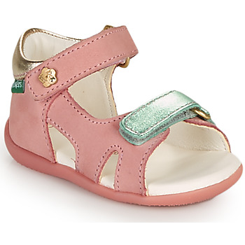 Schuhe Mädchen Sandalen / Sandaletten Kickers BINSIA-2 Rose